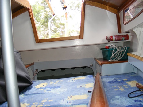 Interior looking aft