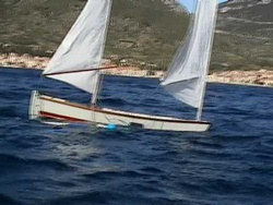 Sailing in Komiza