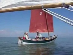 Sherpa light air sailing