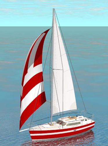 Vagabond 26. [VG26] An offshore capable cruising boat with ...