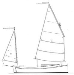Alternative Yawl rig