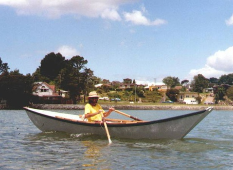 Light Dory rowing
