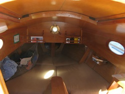 Windward 24 cabin