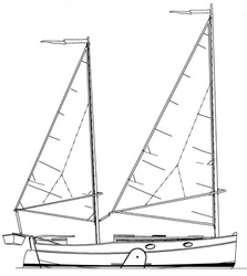 Alternative Cat Ketch rig
