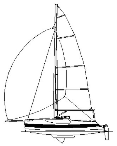 Vagabond 18 Vg18 A Fast Day Sailor With Cabin