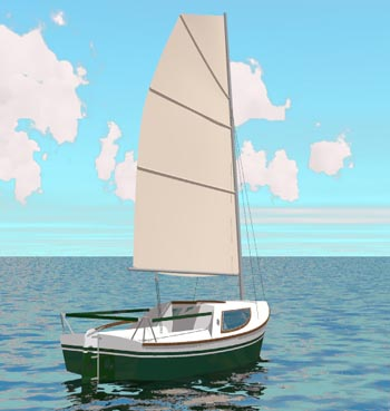 Adelie 14. [AD14] A mini cruiser for coastal cruising and occasional short offshore passages
