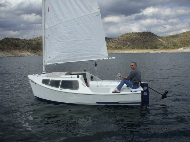 Adelie 16. [AD16] A mini cruiser for coastal cruising and occasional short offshore passages
