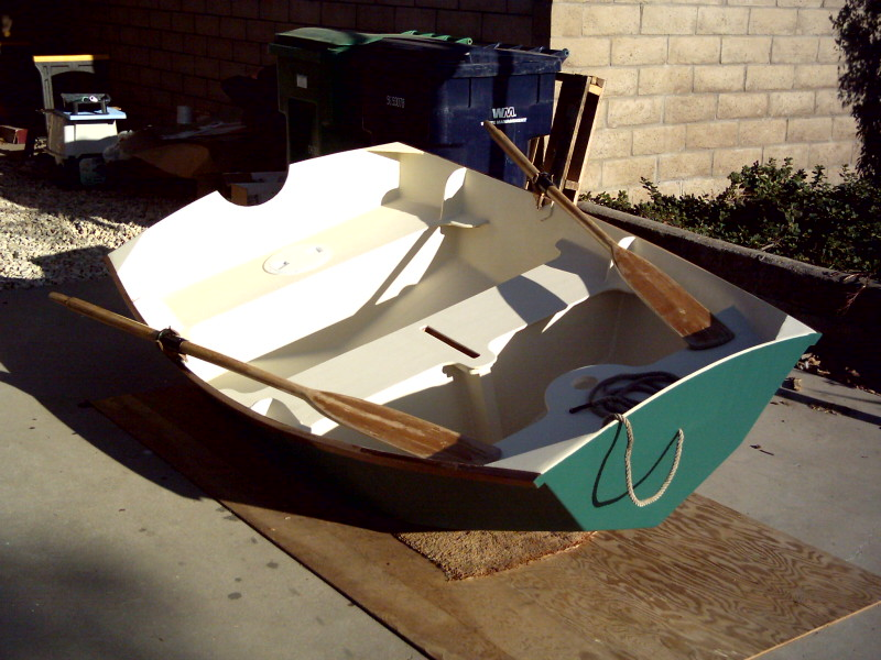 Prameke. [PK78] Pram type dinghy. Oars, sail or outboard ...