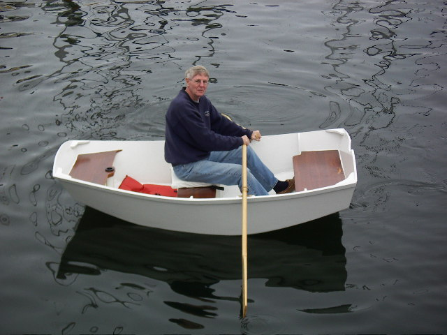 ... PK78] Pram type dinghy. Oars, sail or outboard, wider than the D4/D5