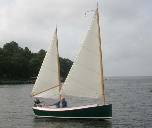 Catbird 16. Sailing camp cruiser