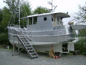 593 x 365 jpeg 41 # xa0 ko trawler boat plans wood drift boat plans ...