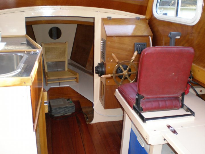 Redwing 21 Pilothouse by Chesapeake Marine Design