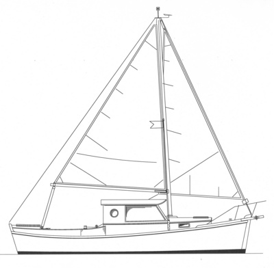 Redwing 26 pilothouse power cruiser for Motor sailer boat plans