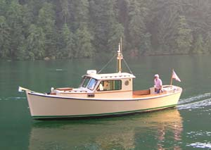 Redwing 26. Pilothouse power cruiser