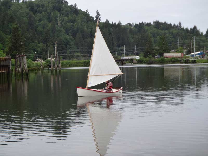 Seal. 11 ft sailing double ender