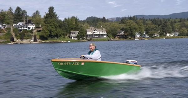 Utility. An 11' outboard utility boat