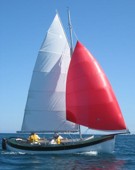 6 M Whaler A Clinker Built Double Ender In The