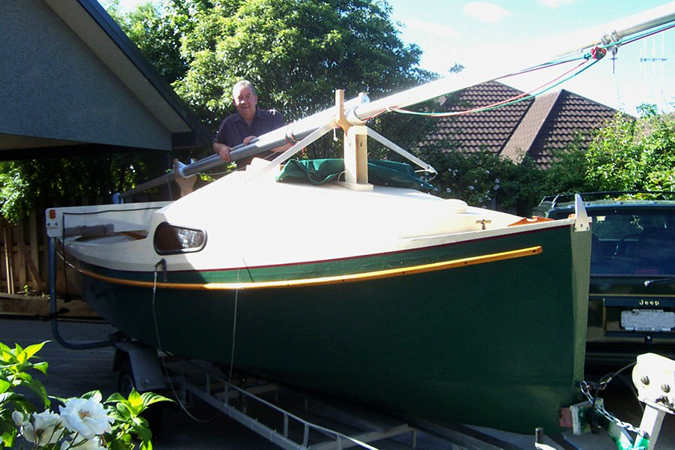 Sweet Pea A Performance Sloop Or A Cruising Yawl With Two