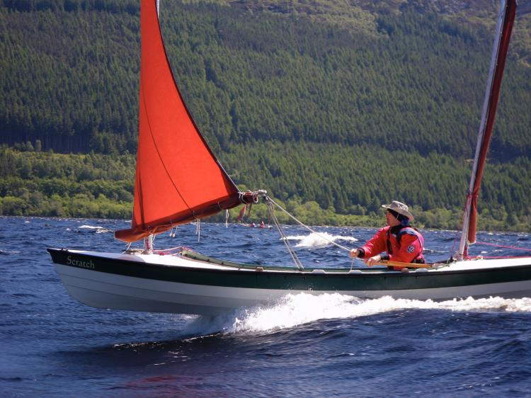 Walkabout. A Cruising Dinghy for the Maine Island trail