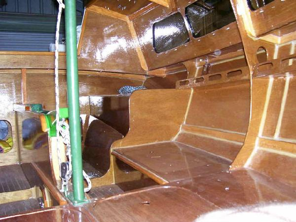 Waller TS 540. 17 ft multichine plywood version of the TS ...